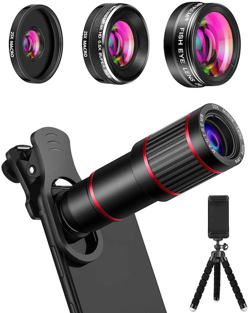Trendy photos from cell phones with these lens attachments
