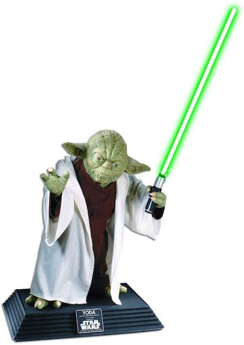 Life size Yoda tops the Unique Gifts list