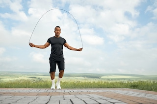 Jumping Rope keeps you moving for a better life