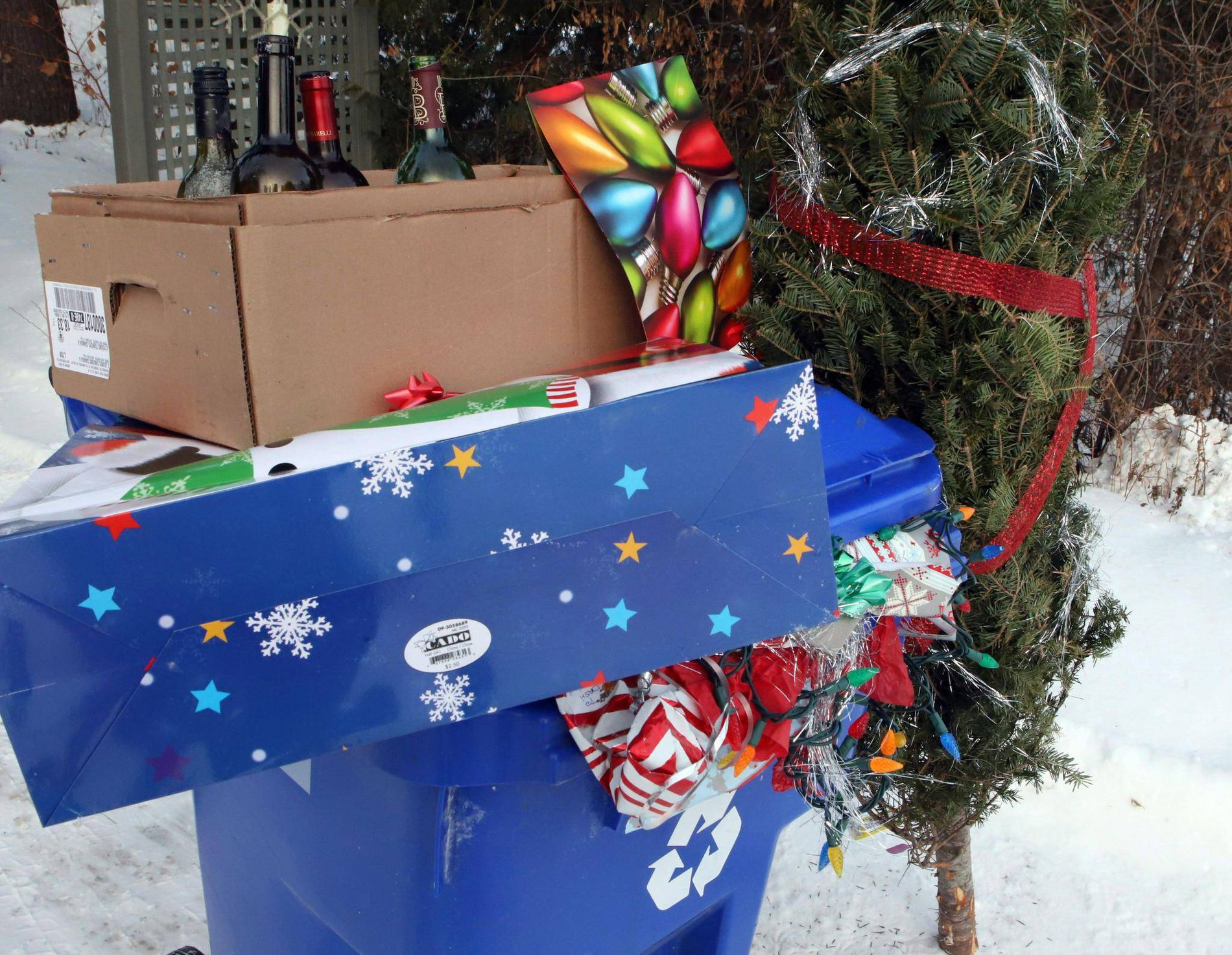 Unwanted gifts after Christmas
