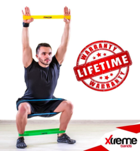 Home fitness exercise band