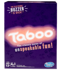 Taboo Game. Father's Day gift ideas
