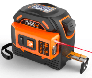 Laser tape measurer. Father's day gift ideas
