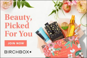 Birchbox suggested as a subscription that is best for you.